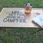 Used Ca A Tv Tray Makeover Take Em Outside Used Ca