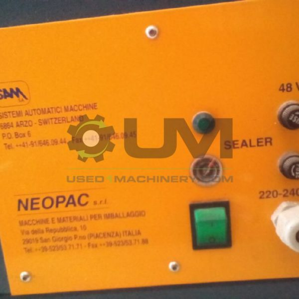 Συσκευαστική Κάθετη NEOPAC δοσομετρική μεταχειρισμένη