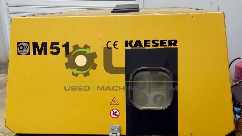 Kaeser M51 αεροσυμπιεστής υδροβολής μεταχειρισμένος