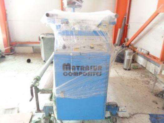 Μηχάνημα επεξεργασίας πλαστικού MATRASUR