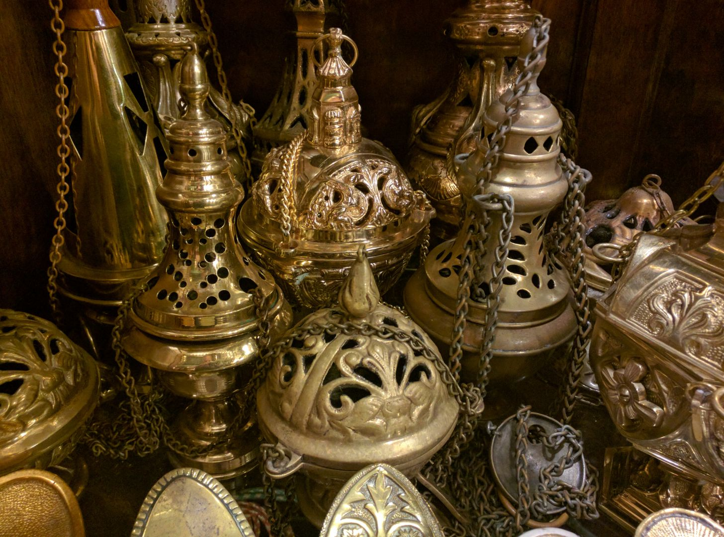 Censers  Thuribles  Used Church Items