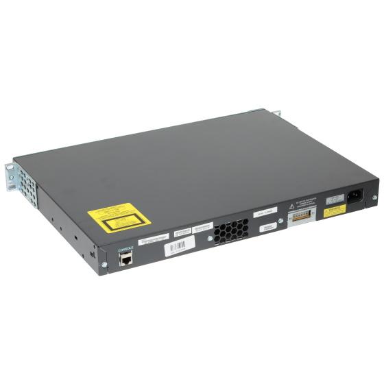 Cisco Catalyst 2960G 24x Port RJ45 Gbit Switch + 4x GBIC-Slot WS-C2960G-24TC-L-Networking-10031510