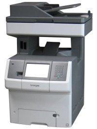Lexmark X738de All-in-One FAX Farb-Kopierer Laserdrucker ...