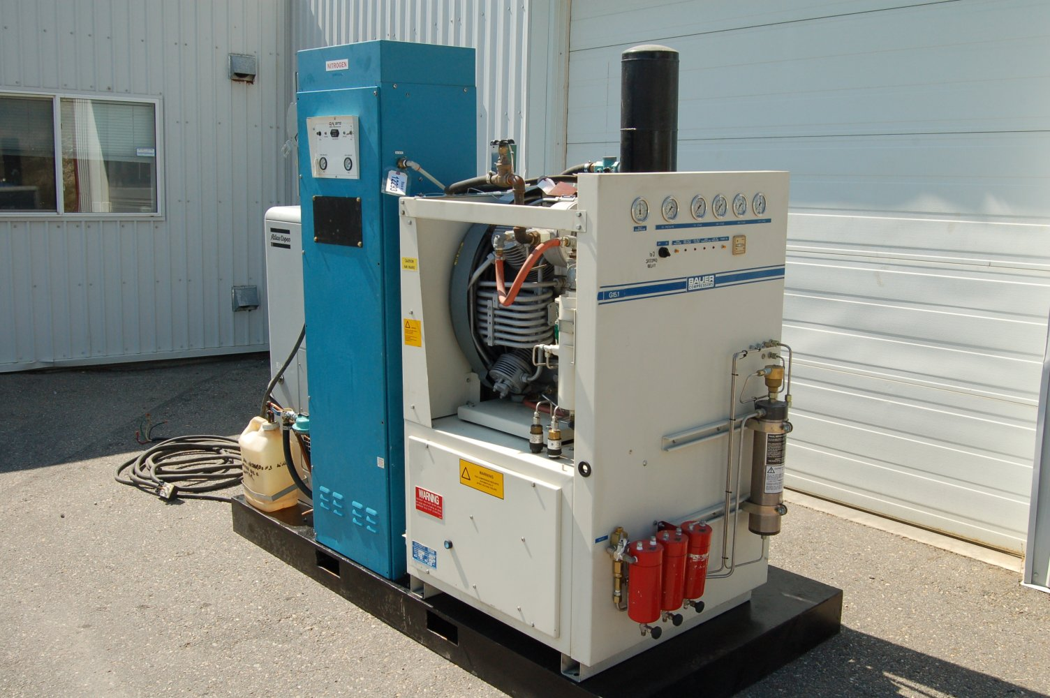 Gas Generator Compressor Air And
