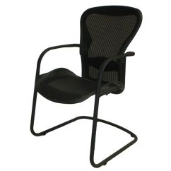 Office Side Chairs Cosco Folding Chair Herman Miller Aeron Black Mesh