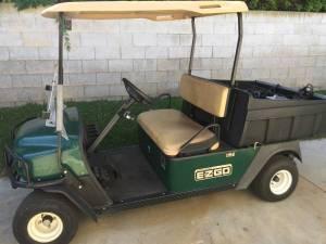 2008 EZGO MPT 1000 Utility Golf Cart  Used Cushman  call