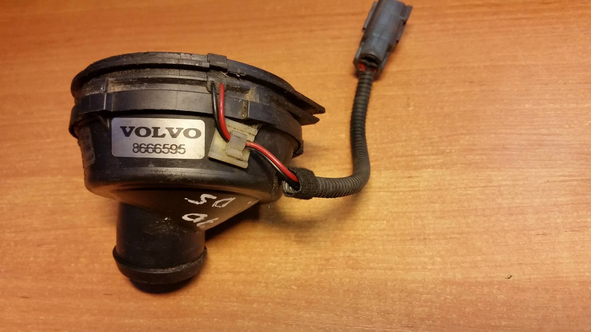 hight resolution of volvo v70 xc90 s60 s80 d5 00 05 ecu cooling fan 8666595 article 8666595