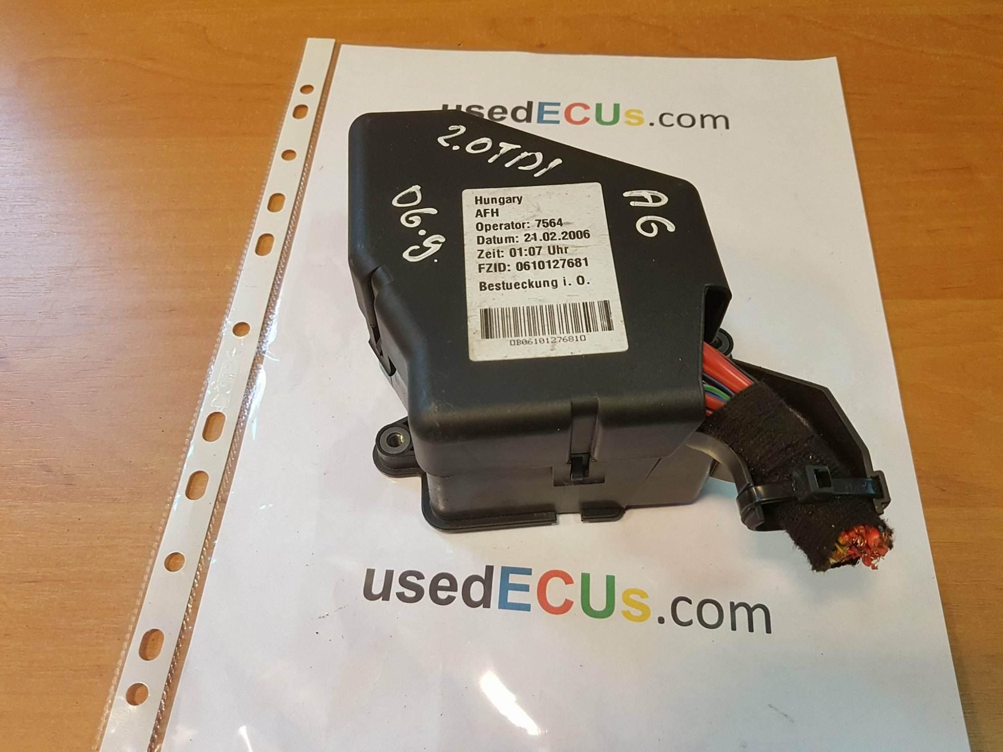 hight resolution of audi a6 c6 2006 2 0tdi fuse box 8d2941824 article 8d2941824