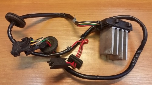 small resolution of 1998 saab 9 5 heater blower resistor climate control fan control unit 4869327