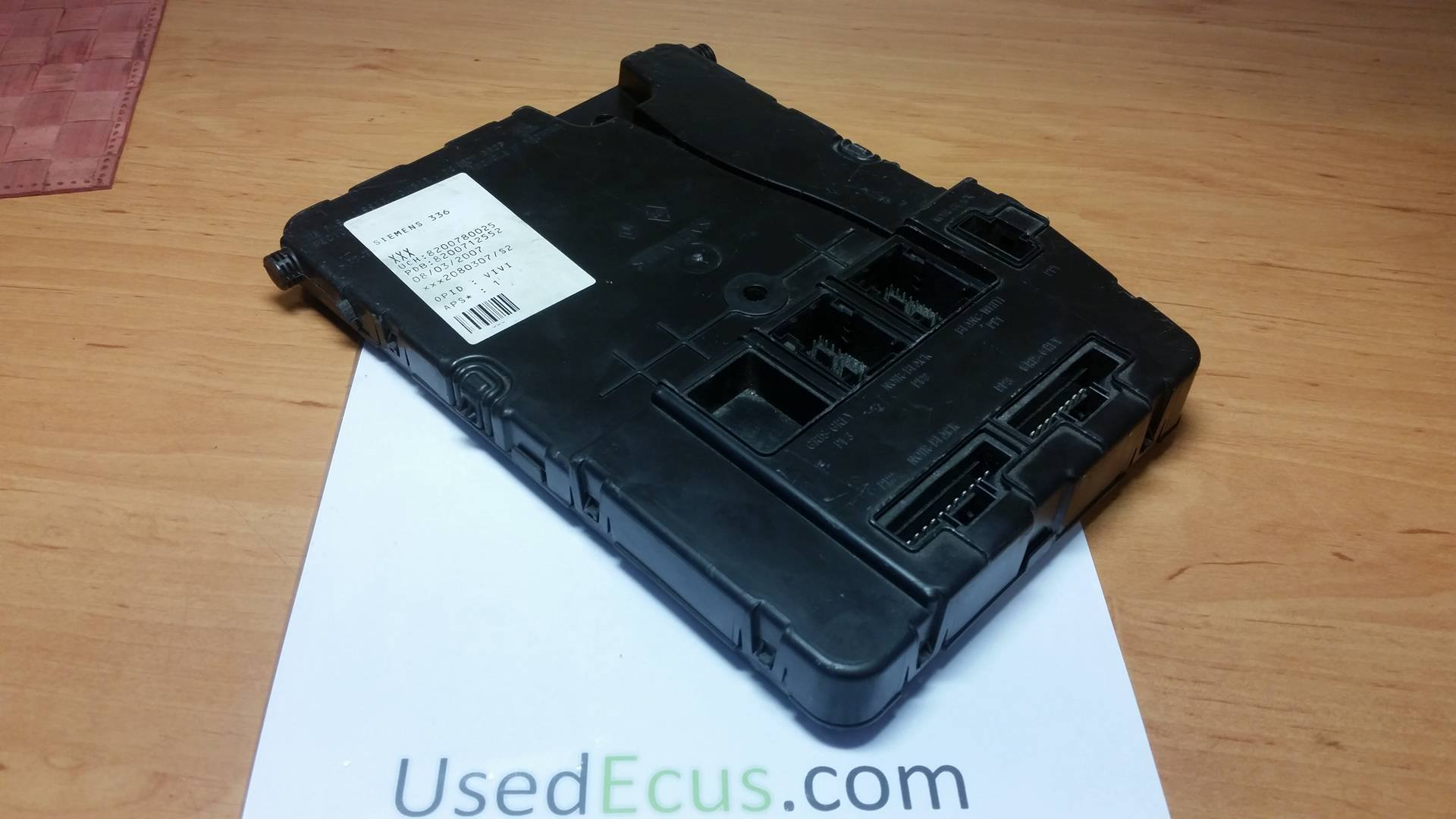 hight resolution of renault megane scenic mk2 fuse box oem siemens article 8200780025 u118400920j
