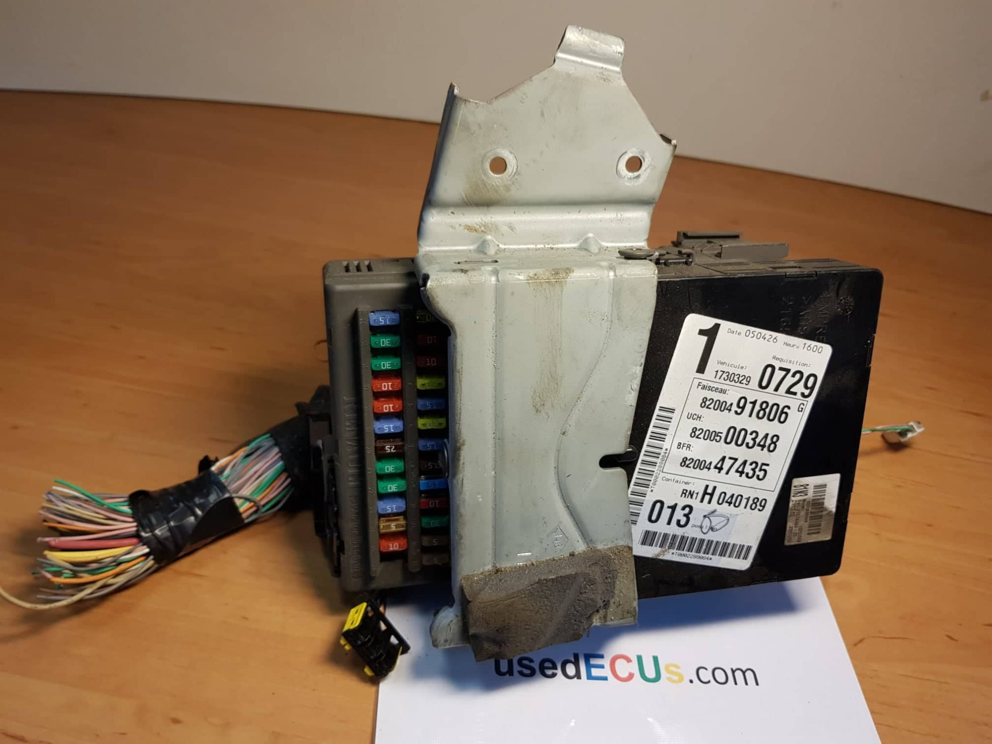 hight resolution of renault laguna mk2 espace mk4 2002 08 relay fuse box article 518832118 8200491806 88200500348 8200500348