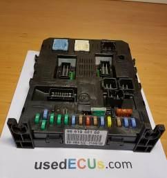 citroen c4 peugeot 1 6 hdi fuse box relay box ecu  [ 2048 x 1536 Pixel ]