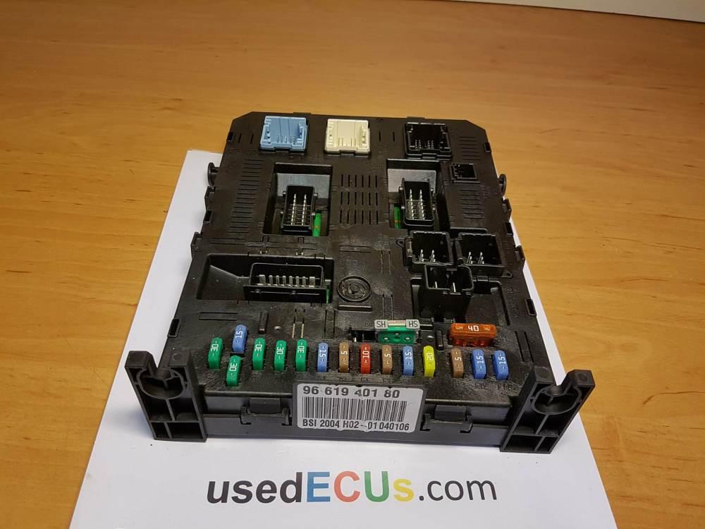 medium resolution of citroen c4 peugeot 1 6 hdi fuse box relay box ecu