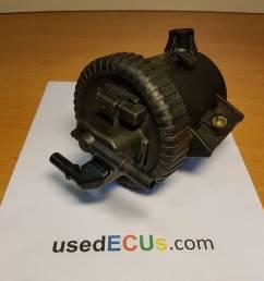 peugeot 807 407 citroen c5 c8 diesel fuel filter housing box article 9642105180c 9638780280 9642105180  [ 1920 x 1440 Pixel ]