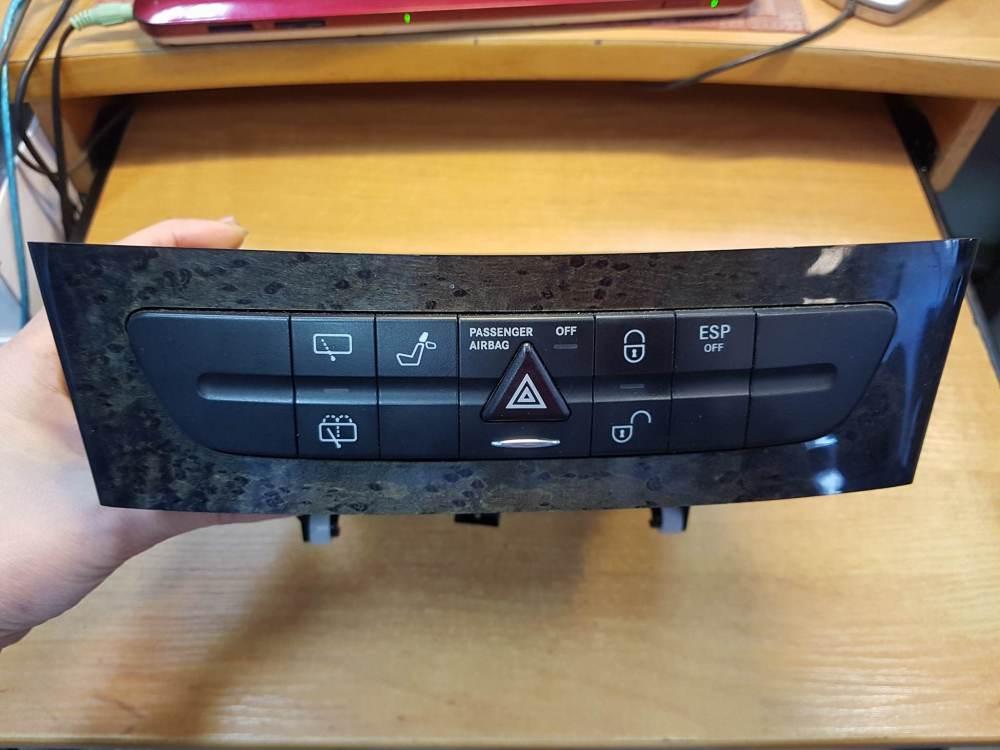 medium resolution of mercedes benz w211 e320 cdi hazard switch seat control panel a2116800552 article a2116800552