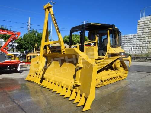 small resolution of  2281r caterpillar d5n xl bulldozer with stick rake full