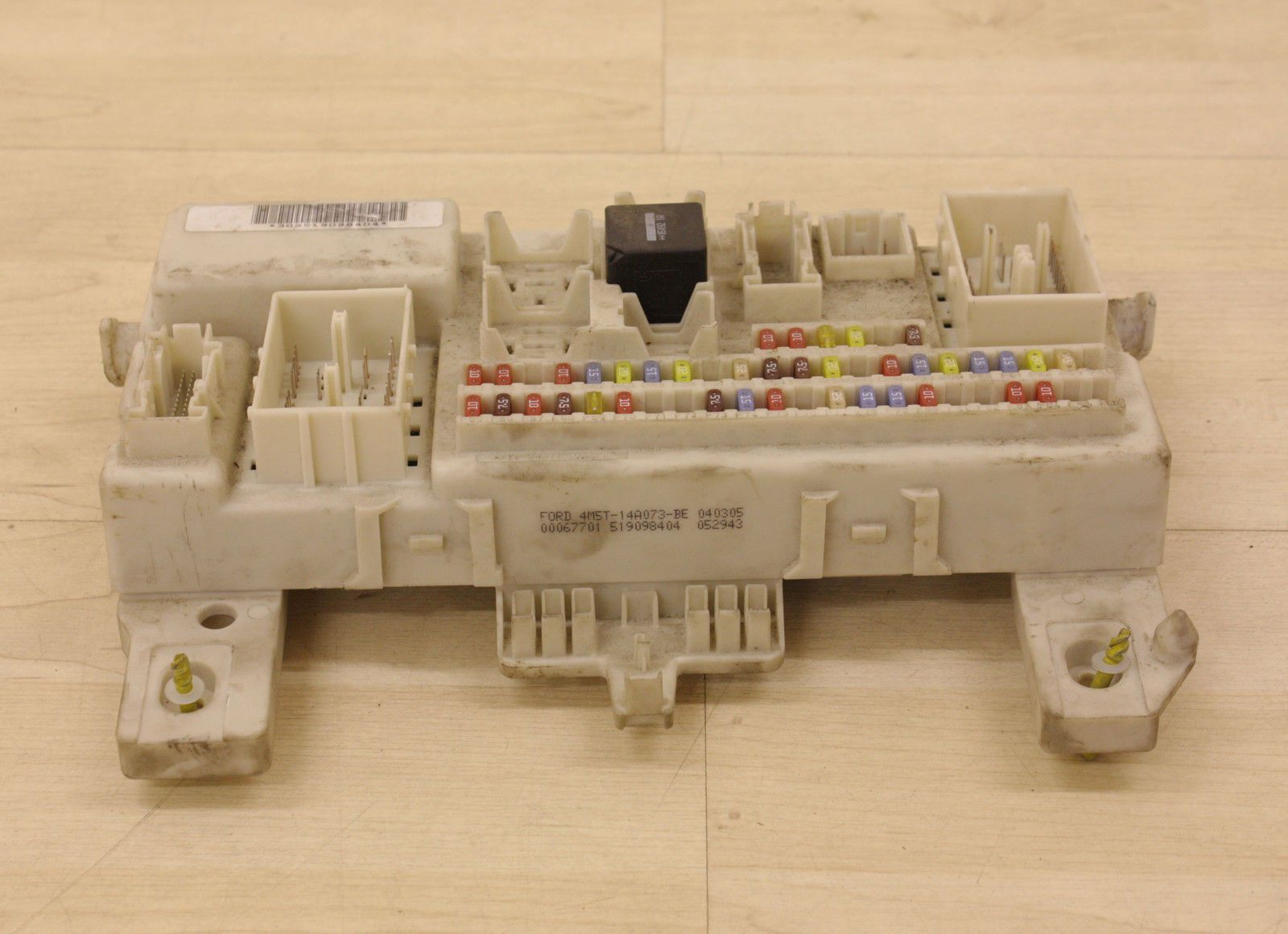 hight resolution of ford focus mk2 c max body control module fuse box bcm 4m5t 14a073 bf 2003 2007 2230 p jpg