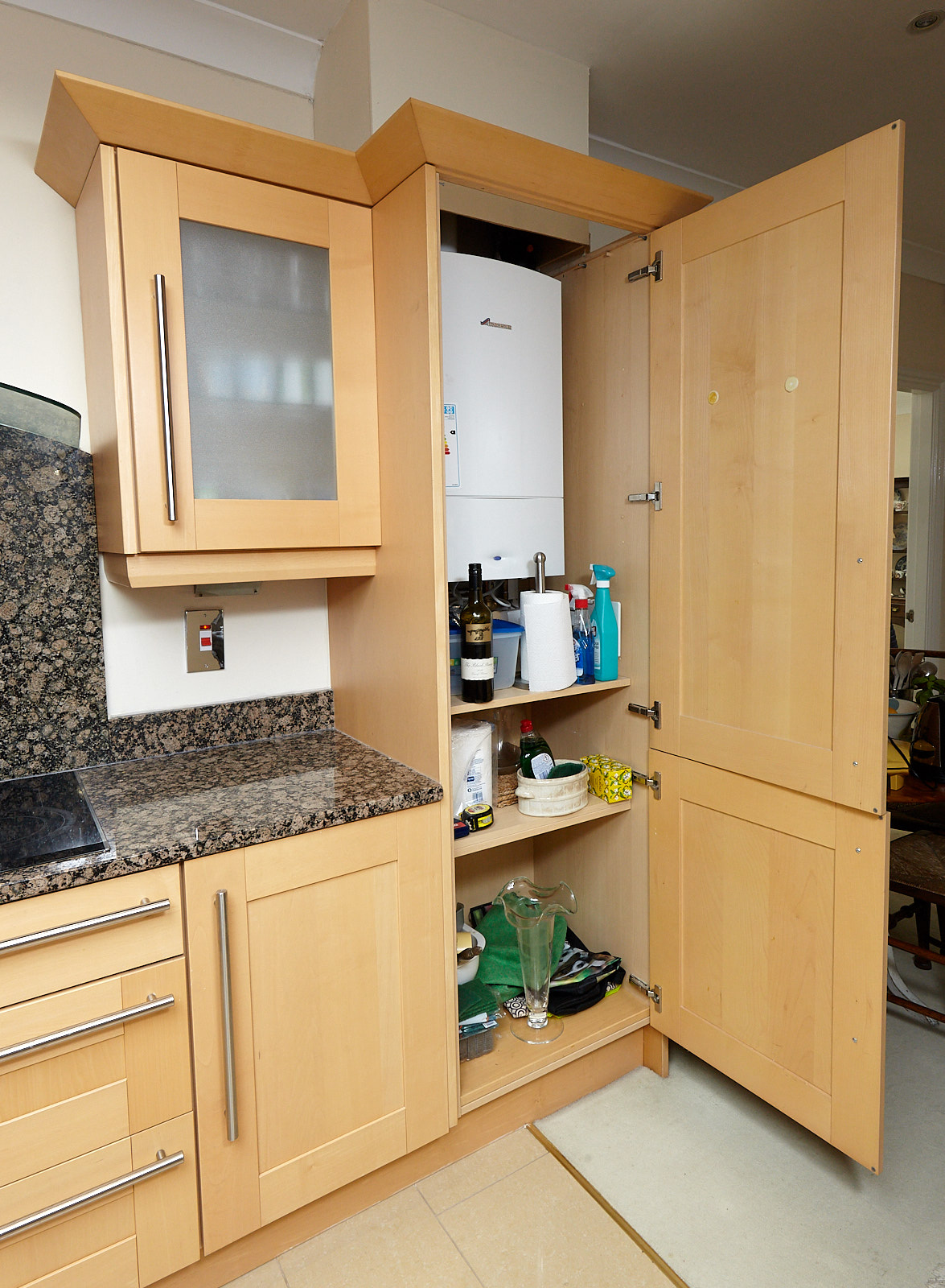 big lots kitchen appliances outdoor fridge large shaker used with granite worktops of