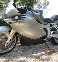 bmw k1200s 2005 excellent running engine gearbox and clutch road the bike for 25 km abs is not working esa aftermarket muffler good straight parts small  [ 1067 x 800 Pixel ]