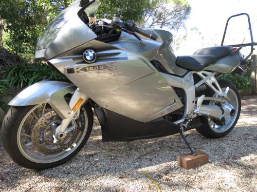 small resolution of bmw k1200s 2005 excellent running engine gearbox and clutch road the bike for 25 km abs is not working esa aftermarket muffler good straight parts small