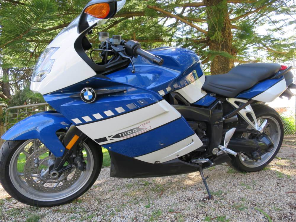 medium resolution of bmw k1200s 2006 all parts available very neat bike light drop on the left excellent condition