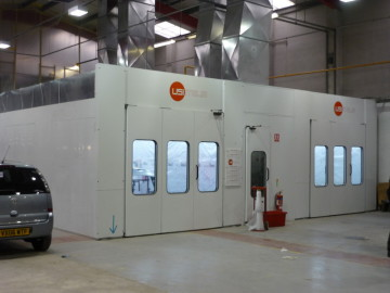 Used Spray Booths Buy or Sell Online  USI Italia