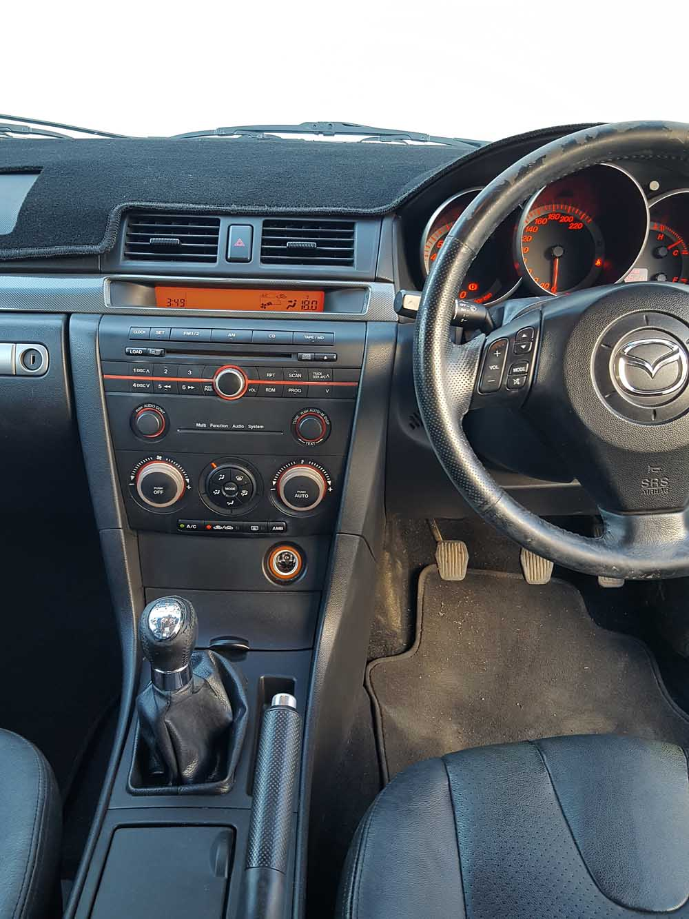 hight resolution of mazda 3 sp23 manual sedan 2005 grey