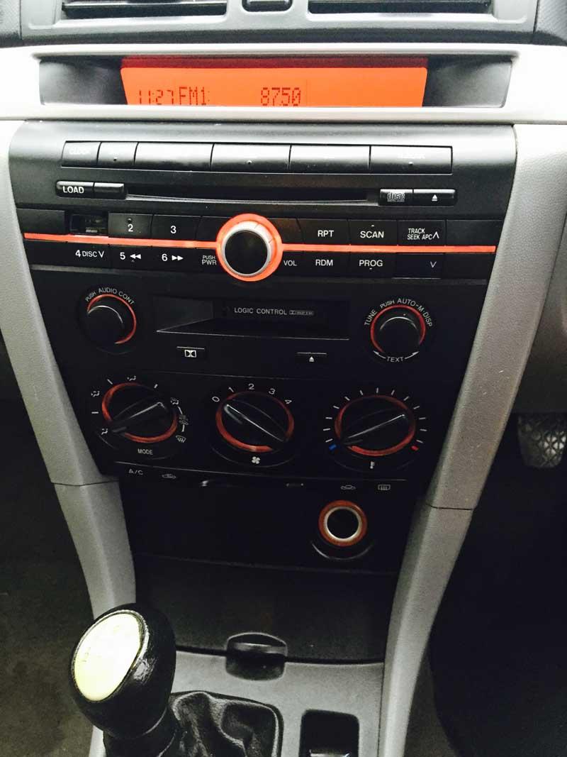hight resolution of mazda 3 manual sedan 2005 black