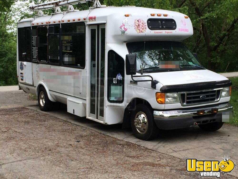medium resolution of 2006 ford e450 diesel bus food truck mobile kitchen for sale in illinois