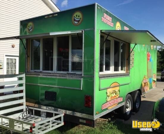 kitchen trailer utilities 8 x 20 food concession for sale in tennessee