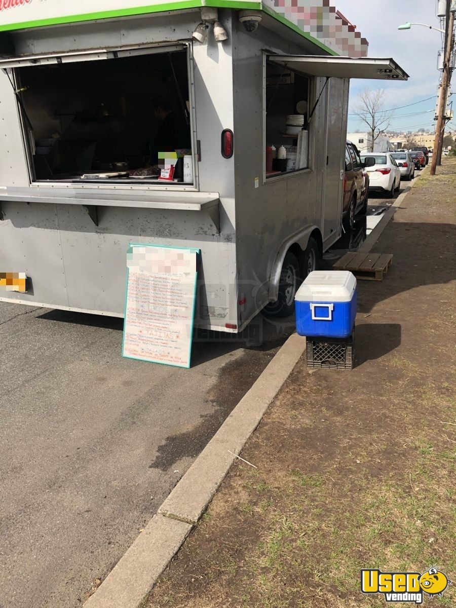 used kitchen cabinets for sale nj unique sinks 2015 - 8' x 14' food concession trailer | ...