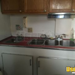 Used Kitchen Cabinets Indiana 36 Sink Food Concession Trailer For Sale In