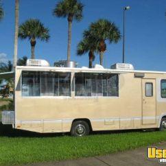 Used Kitchen Equipment Miami Rolling Cart 26' Mobile - Custom Food Truck Fleetwood