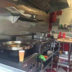 Used Kitchen Cabinets For Sale Nj Moen Banbury Faucet 2015 - 7' X 14' Food Concession Trailer | ...