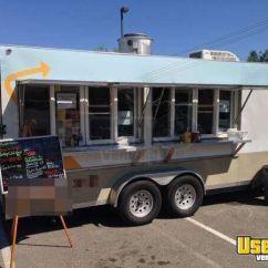Mobile Kitchen Trailers Backsplash Trim Ideas 20' Concession Trailer   For ...