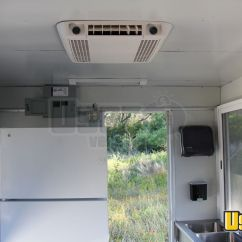 Used Commercial Kitchen Equipment Buyers Window Ideas 7.5' X 12' Fully Loaded Food Concession Trailer | ...