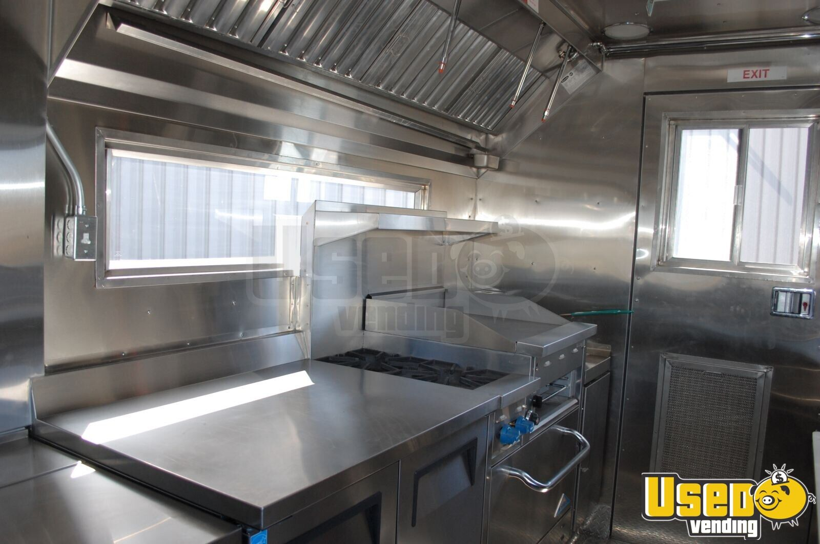 used commercial kitchen equipment buyers stainless steel trash can isuzu food truck for sale indiana loaded mobile