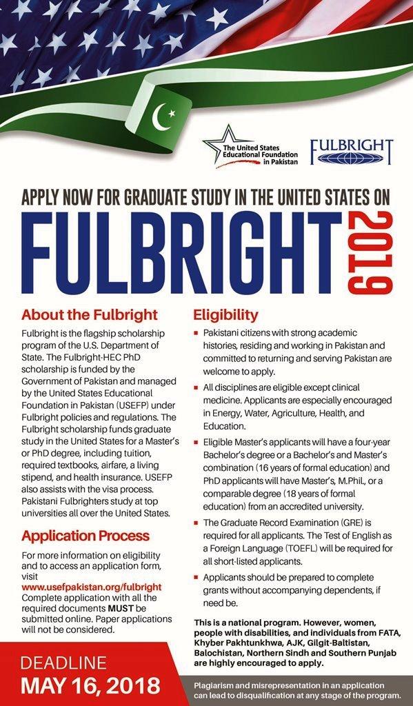 USEFP  Fulbright Degree Program