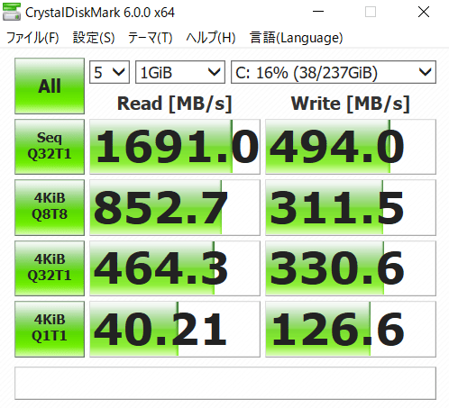 SSDの評価