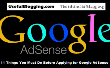 Things You Must Do Before Applying for Google AdSense