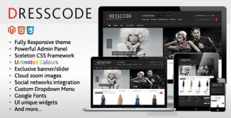 20 Best Clothes Fashion Magento Themes for Online Shop 2017