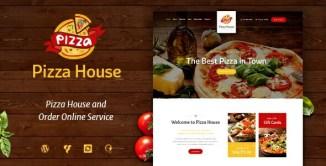 15 Best Premium Pizza House WordPress Themes 2017