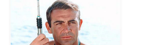 Sean Connery wears a toupee in all the James Bond movies