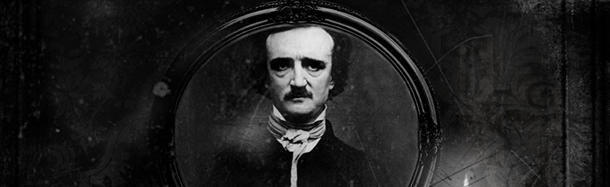 What words does Edgar Allan Poe call out as dying?
