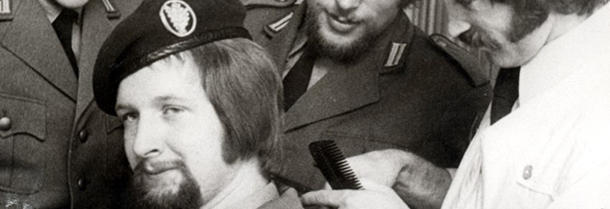 Germany lifts restriction on haircuts for soldiers in the early 70s
