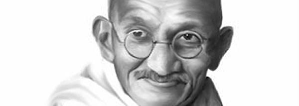 """Gandhi did not say  """"Be the change you wish to see in the world"""""""