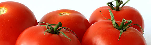 Where did tomatoes originate from?