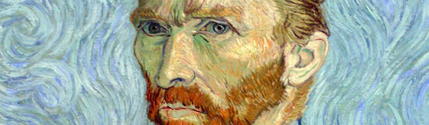 What was cut was van Gogh's ear lobe not his whole ear