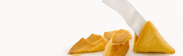 Where was the fortune cookie invented?