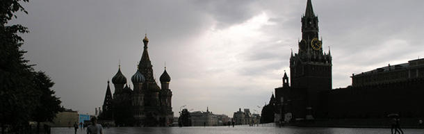 There are three days in Moscow that it never rains